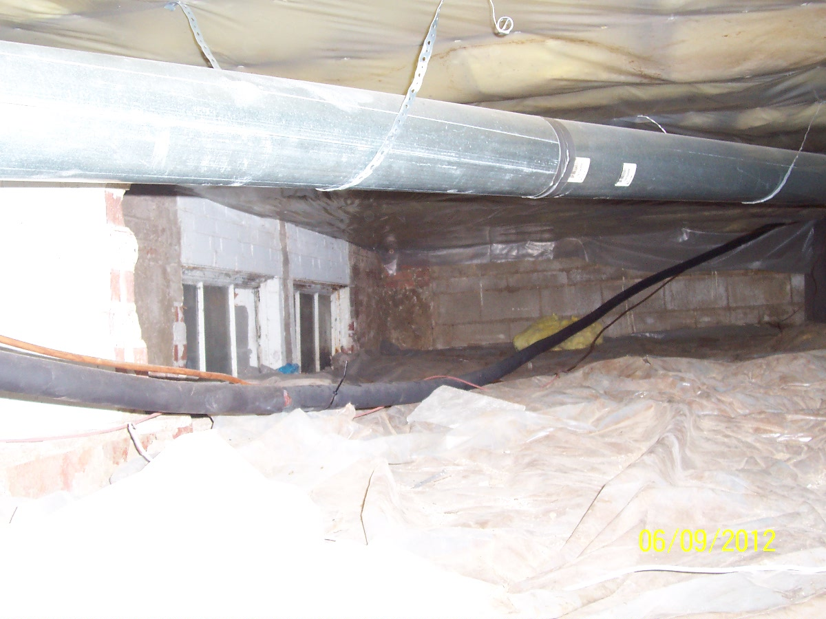 Crawl space terry 39 s quality concrete for Concrete in crawl space