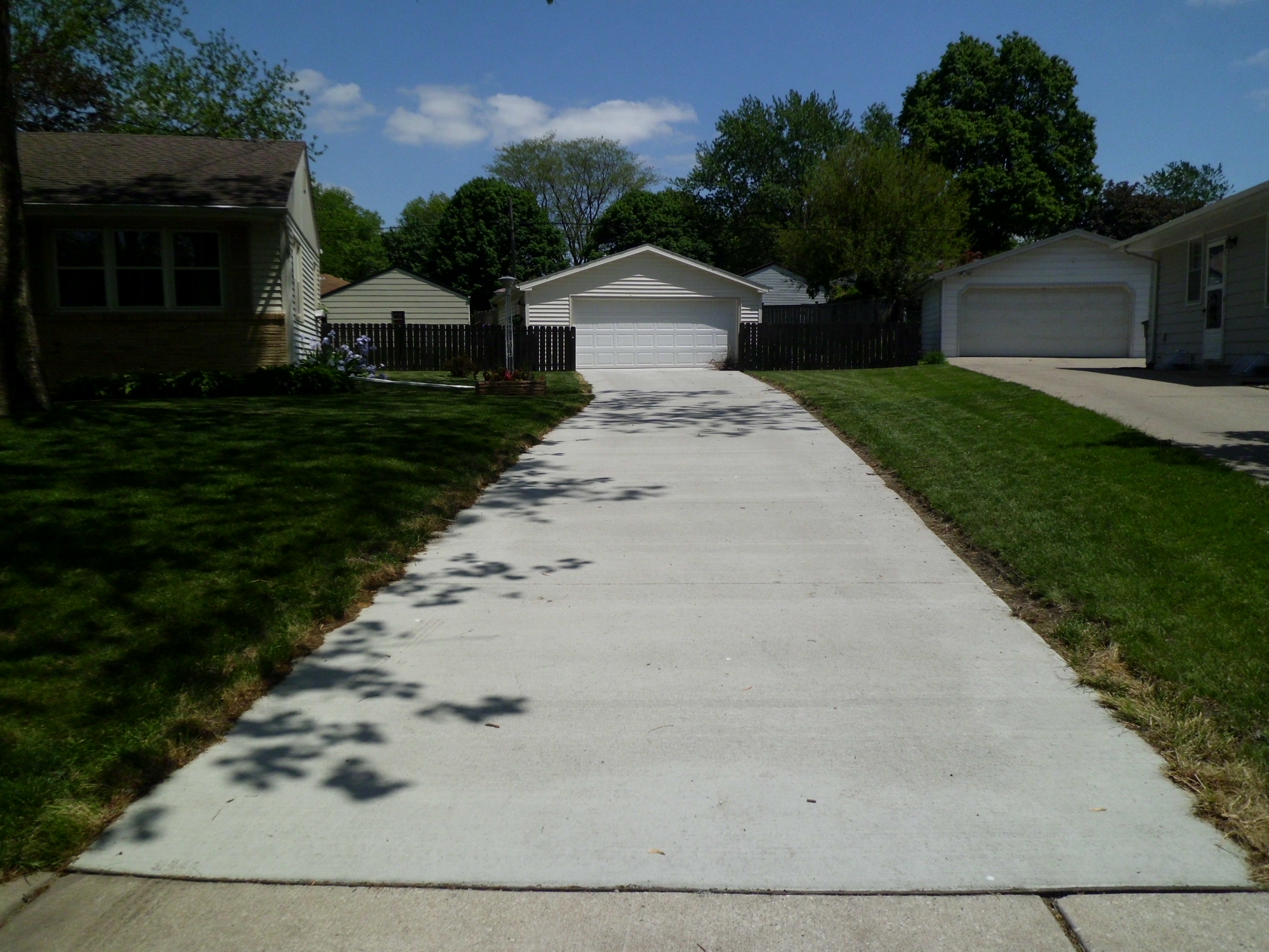 Concrete contractor terry 39 s quality concrete for New concrete driveway