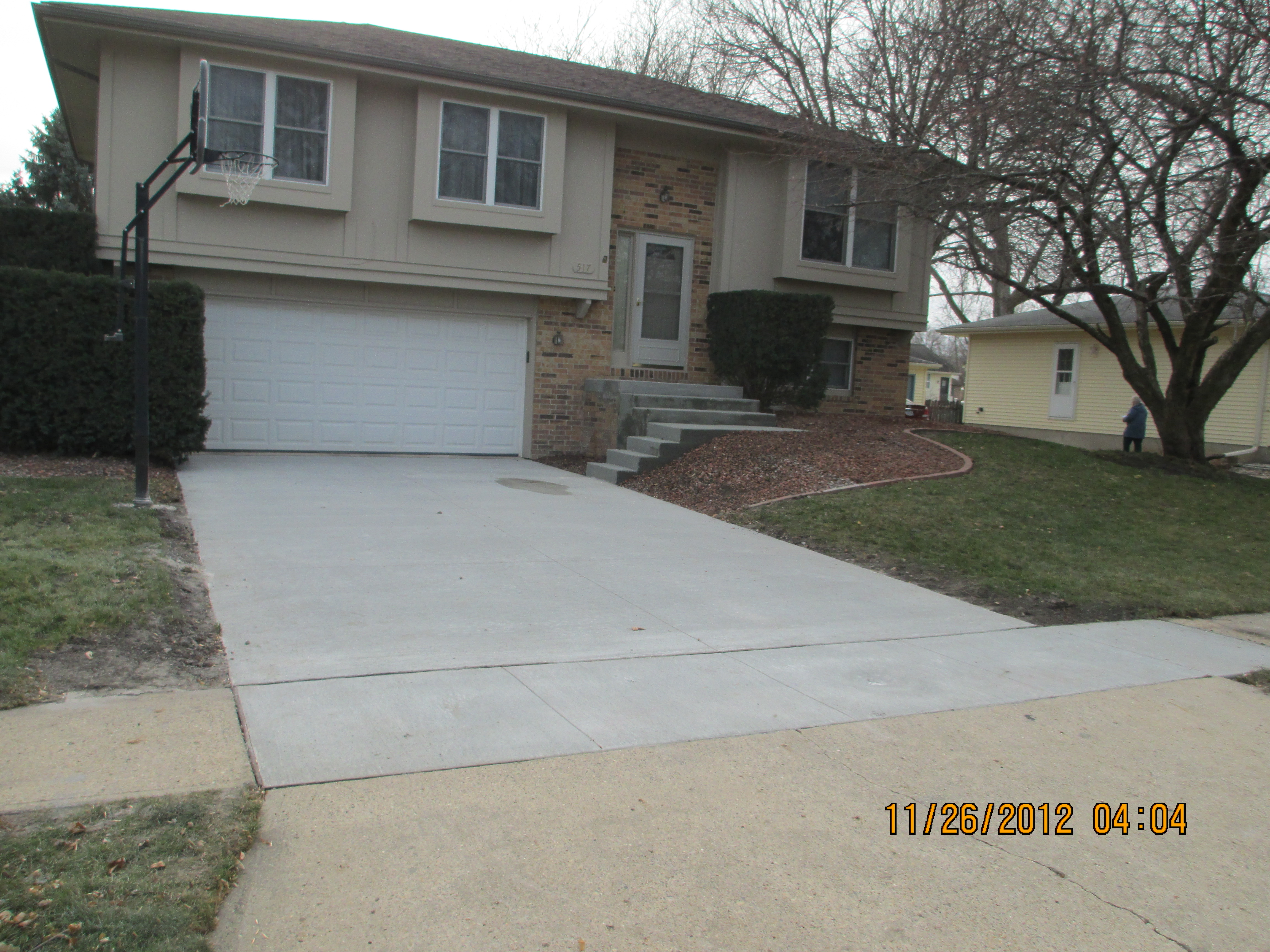 pleted Driveways Terry s Quality Concrete